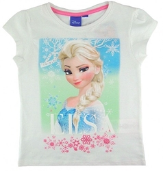 Koszulka frozen  elsa biała 6 lat