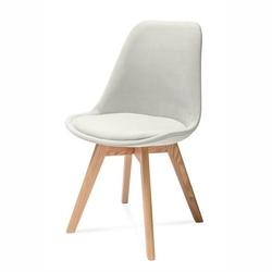 Nowoczesne tapicerowane krzesło harry a