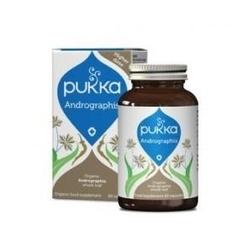 Andrographis odporność i wspomaganie układu pokarmowego 30 kapsułek pukka suplement diety