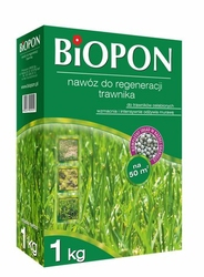 Biopon, nawóz granulowany do regeneracji trawnika, 1kg