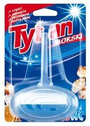 Tytan, dwufazowa zawieszka do toalety, zapach morski