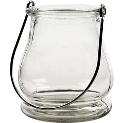 Szklana latarenka 9x10 cm