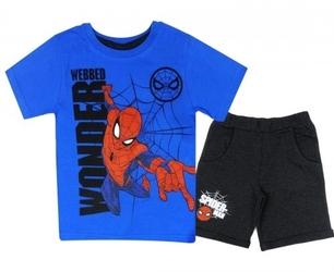 Komplet letni spiderman dla chłopca