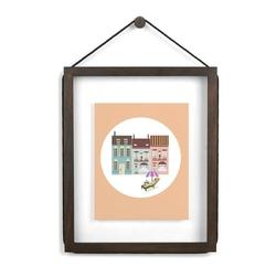 Ramka na zdjęcia Corda 20 x 25 cm postarzany orzech