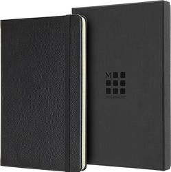 Notes moleskine okładka skórzana edycja limitowana l w linię czarny