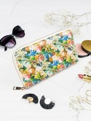 Pojemny portfel damski zielony milano design - zielony