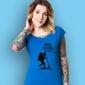 Chłopak - wciąż nie mogę się nadziwić t-shirt damski niebieski s
