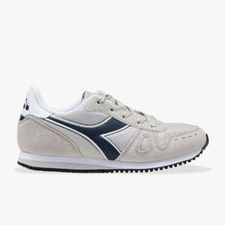 Sneakersy dziecięce diadora simple run gs - szary