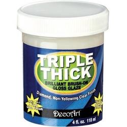 Lakier wodny Triple Thick 118 ml DecoArt - 118ML