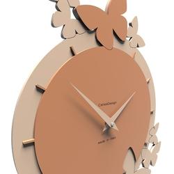 Zegar ścienny dancing butterflies calleadesign gołębi 50-10-2-13