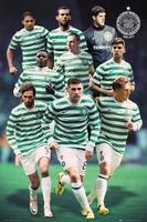 Celtic players 1213 - plakat
