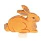Drewniana figurka, siedzący króliczek, grimms
