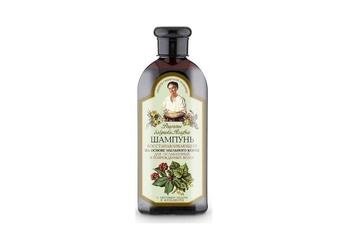 Babuszka agafia regenerujący szampon na bazie korzenia z mydlnicy lekarskiej – do włosów suchych i zniszczonych, 350ml