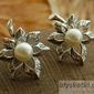 Livia - srebrne kolczyki z perłami