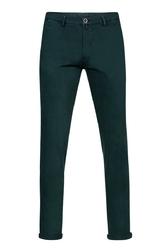 Spodnie męskie zielone typu chino 52