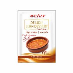 Activlab De Luxe Lean Dessert 30 g Deser Białkowy - Creme Brulee