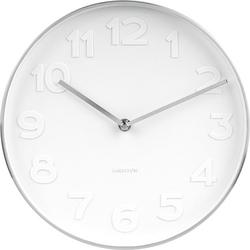 Zegar ścienny Mr. White Numbers 27,5 cm
