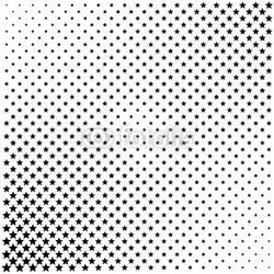 Fotoboard na płycie czarne gwiazdy w półtonach