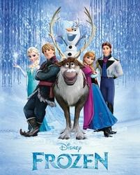 Frozen Kraina Lodu Obsada - plakat