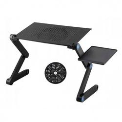 Stolik metalowy podstawka chłodząca pod laptopa
