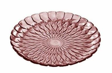 Talerz ozdobny Jelly różowy