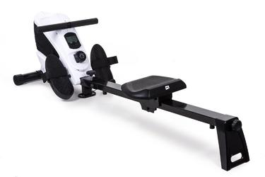 Wioślarz magnetyczny hs-060r cross biały - hop sport - biały
