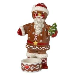 Świecznik piernikowy mikołaj winter bakery decoration villeroy  boch