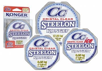 ŻYŁKA STEELON CRISTAL CLEAR FLUOROCARBON COATED 0.2230