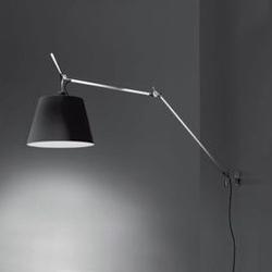 Artemide :: lampa ścienna  kinkiet tolomeo mega czarna śr. 36 cm