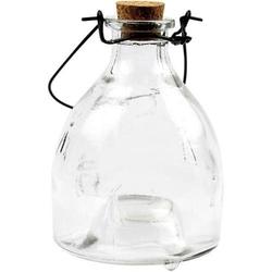 Szklana butelka - pułapka na owady