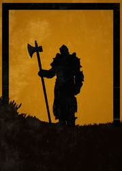 For honor - lawbringer - plakat wymiar do wyboru: 40x50 cm