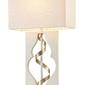 Lampa stołowa kwadratowa intreccio maytoni classic arm010-11-w