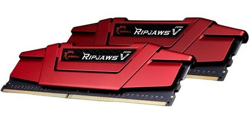 G.SKILL DDR4 8GB 2x4GB RipjawsV 2400MHz CL15 XMP2 Red