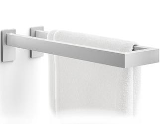 Wieszak łazienkowy na dwa ręczniki linea zack matowy 40398