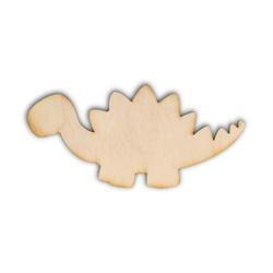 Drewniana ozdoba do rękodzieła - DINOZAUR - dinozaur