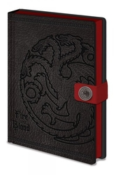 Gra o tron - game of thrones targaryen - notes