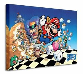 Super Mario Bros. 3 Art - Obraz na płótnie
