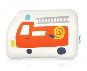 Poduszka dziecięca z wozem strażackim city transport