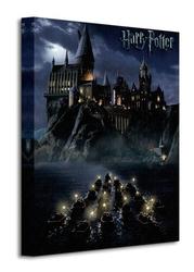 Harry potter hogwarts school - obraz na płótnie