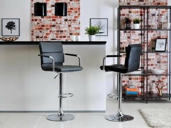 Hoker tapicerowany felix nowoczesny czarny