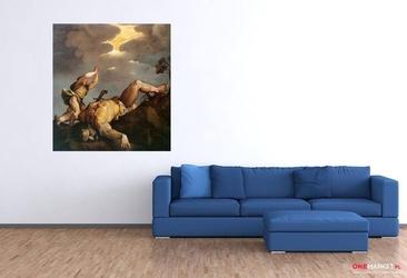 dawid i goliat - tycjan ; obraz - reprodukcja