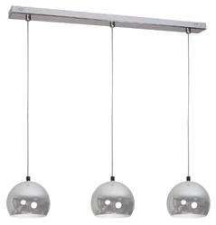 Nowoczesna lampa ball chrom metalowe kule zwis