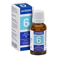 Biochemie globuli 6 kalium sulfuricum d 6