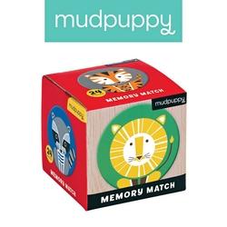 Gra mini memo mudpuppy - zwierzęta