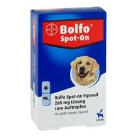 Bolfo spot-on fipronil 268 mg lösung für grosse hunde