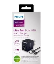 Philips ładowarka 5v3.1a 15.5w usb type c z kablem usb type c