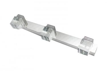 Kinkiet led crystal 3 - 45 cm 9w