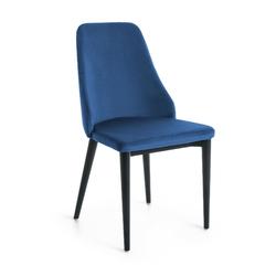 Krzesło ARMADA 87x56 kolor niebieski - ciemno-niebieski