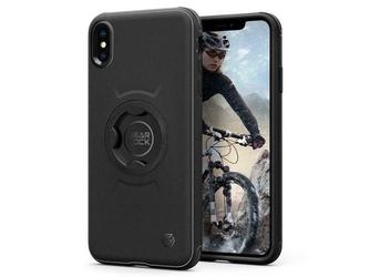 Etui spigen gearlock cf101 bike mount apple iphone xxs black + szkło alogy