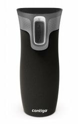 Kubek termicznyContigo WEST LOOP 2.0 470ml czarny mat - powystawowy